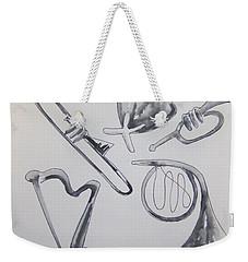 Symphony Weekender Tote Bag