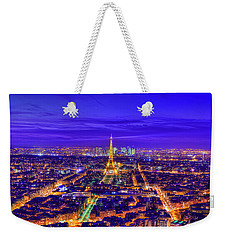 Symphony In Blue Weekender Tote Bag by Midori Chan
