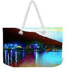 Symphony River Weekender Tote Bag