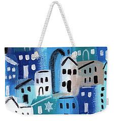 Synagogue- City Stories Weekender Tote Bag