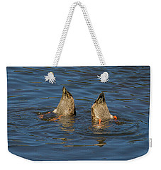 Synchronized Swimming Weekender Tote Bag by John Roberts