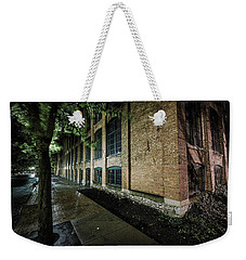 Weekender Tote Bag featuring the photograph Syracuse Sidewalks by Everet Regal