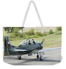 T-28 Taxiing Out Weekender Tote Bag