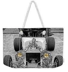T Bucket Weekender Tote Bag