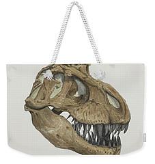 T. Rex Skull 2 Weekender Tote Bag