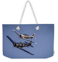 T6s At Reno Air Races Weekender Tote Bag