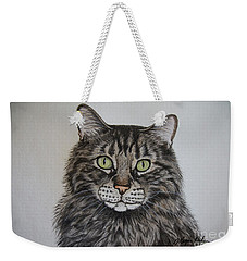 Tabby-lil' Bit Weekender Tote Bag