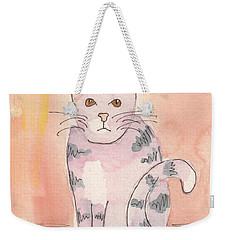 Tabby Weekender Tote Bag by Terry Taylor