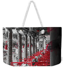 Table For Four Weekender Tote Bag by Mark Dunton