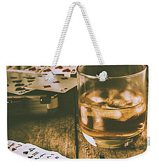 Table Games And The Wild West Saloon  Weekender Tote Bag
