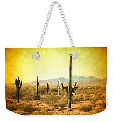 Table Moumtain Vintage Western Weekender Tote Bag