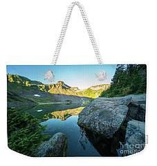 Table Mountain Golden Morning Weekender Tote Bag