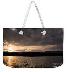 Table Rock Sunset Weekender Tote Bag