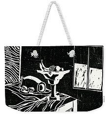 Tablescape-still Life Weekender Tote Bag