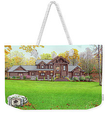 Taborton Lodge Weekender Tote Bag by Albert Puskaric