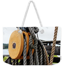 Tackle Block Weekender Tote Bag