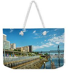 Tacoma And 11th Street Bridge Weekender Tote Bag