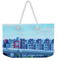 Tacoma Blues - Cityscape Art Print Weekender Tote Bag by Jane Eleanor Nicholas