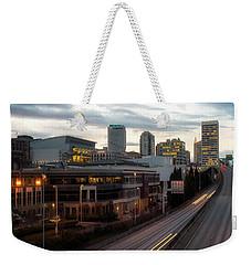 Tacoma Exit Here Weekender Tote Bag