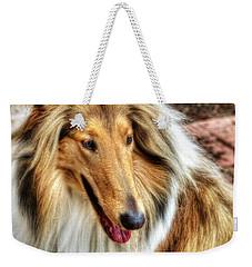 Taffy Collie Weekender Tote Bag