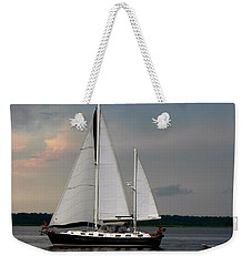 Tahiti Under Sail Weekender Tote Bag