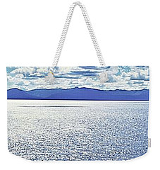 Tahoe From The East Shore Weekender Tote Bag