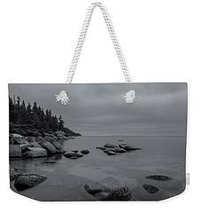 Tahoe In Black And White Weekender Tote Bag