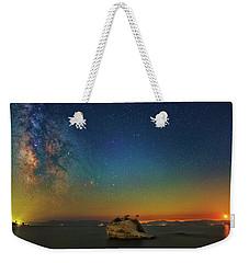 Tahoe Nights Weekender Tote Bag