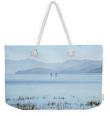 Tahoe Paddle Boarders Weekender Tote Bag