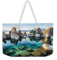 Tahoe Reflections Weekender Tote Bag