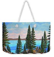 Tahoe Shore Weekender Tote Bag