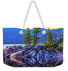 Tahoe Water Reflections Weekender Tote Bag
