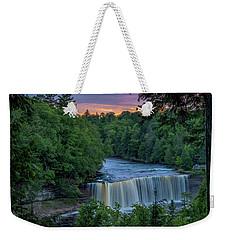 Tahquamenon Falls Sunset. Weekender Tote Bag
