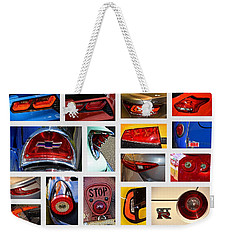 Tail Light Collage Number 1 Weekender Tote Bag