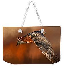 Tail Light On Weekender Tote Bag