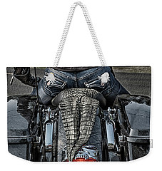 Tail Of The Dragon  Human Interest Art By Kaylyn Franks.  Weekender Tote Bag
