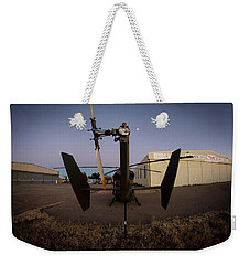 Weekender Tote Bag featuring the photograph Tailblade by Paul Job