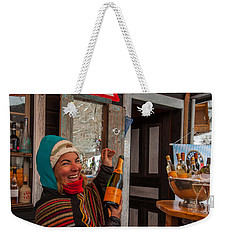Taimi In Zermatt Switzerland Weekender Tote Bag