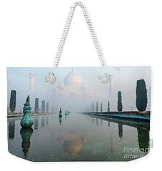 Taj Mahal At Sunrise 01 Weekender Tote Bag