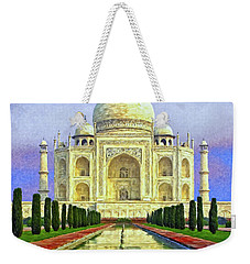 Taj Mahal Morning Weekender Tote Bag
