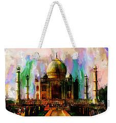 Taj Mehal 009 Weekender Tote Bag