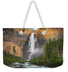 Weekender Tote Bag featuring the photograph Takakkaw Falls Of Yoho National Park by William Lee