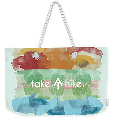 Take A Hike Appalachian Trail Weekender Tote Bag