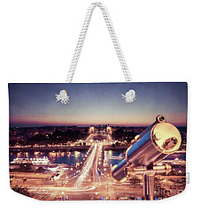 Weekender Tote Bag featuring the photograph Take A Look At Paris by Hannes Cmarits