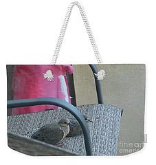 Take A Seat Weekender Tote Bag by Anne Rodkin