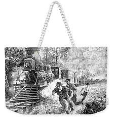 Take Cover Weekender Tote Bag