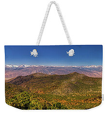 Weekender Tote Bag featuring the photograph Take It All In by Rick Furmanek