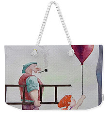 Take It Please Weekender Tote Bag by Geni Gorani