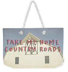 Weekender Tote Bag featuring the photograph Take Me Home Country Roads by Edward Fielding