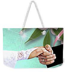 Take My Hand Weekender Tote Bag